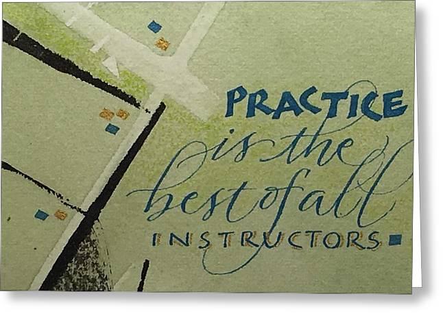 Practice Greeting Card