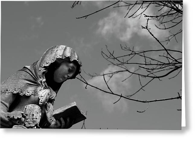 Greeting Card featuring the photograph Prayer by Edward Lee