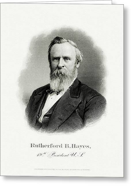 President Rutherford B. Hayes Greeting Card