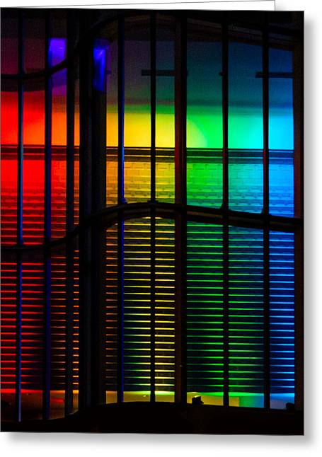 Pride Architecture  Greeting Card by Christine Buckley