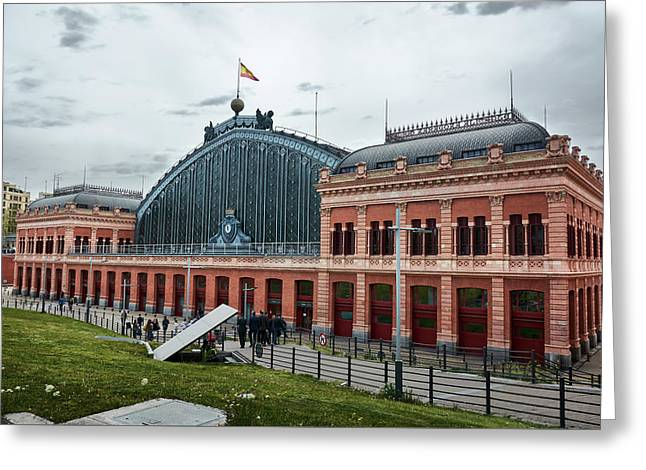 Puerta De Atocha Railway Station Greeting Card