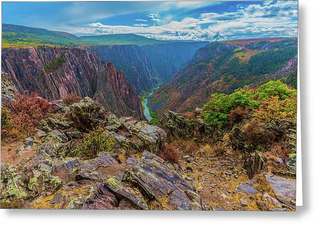 Pulpit Rock Overlook Greeting Card