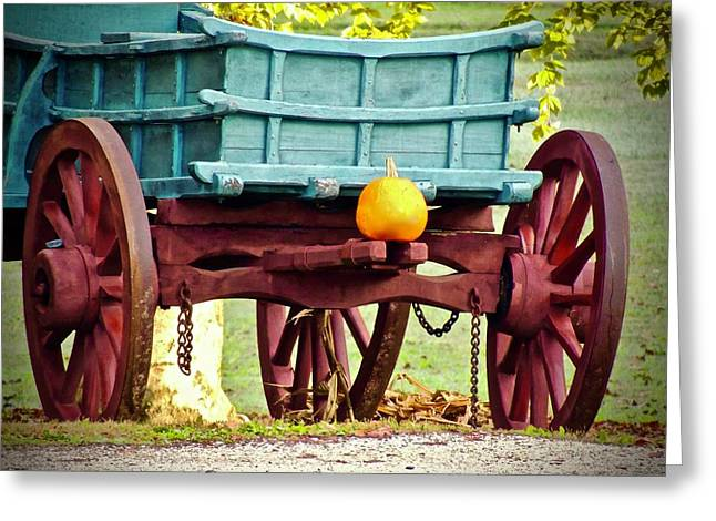 Pumpkin Trail Mix Greeting Card