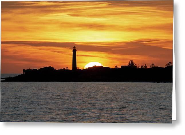 Greeting Card featuring the photograph Punta Secca by Mirko Chessari