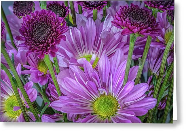 Purple Power Greeting Card