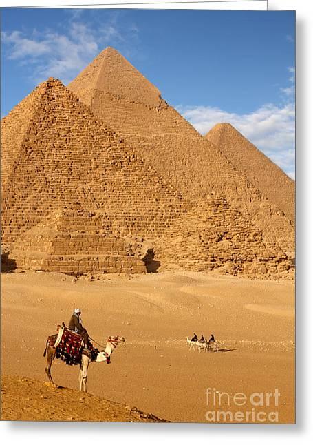 Pyramid Egypt Greeting Card