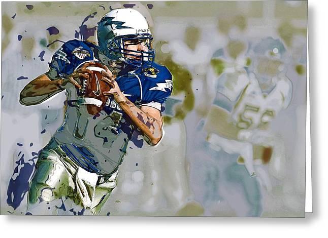 Quarterback, American Football Greeting Card