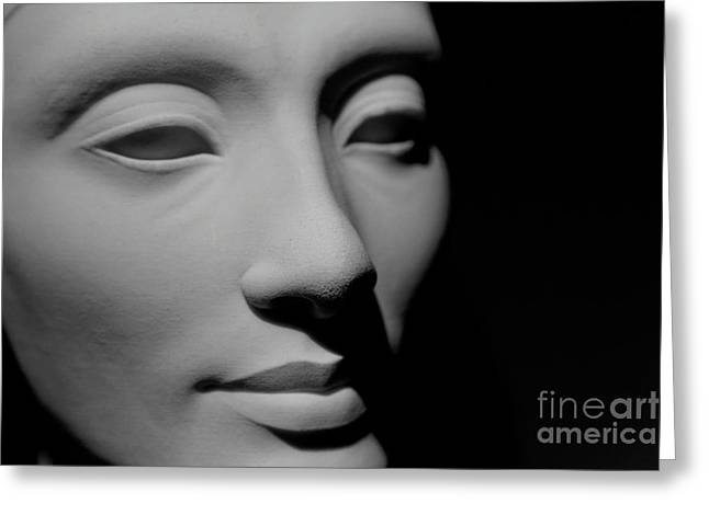Greeting Card featuring the photograph Queen Nefertiti by Sue Harper