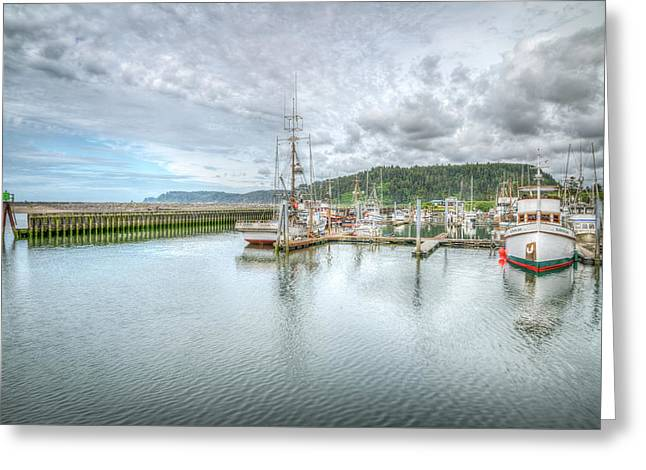 Quilieute Marina Greeting Card