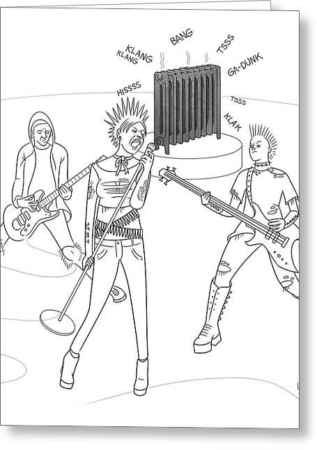 Radiator Band Greeting Card