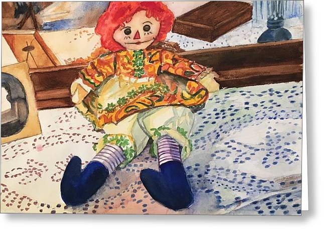 Raggedy Annie Greeting Card