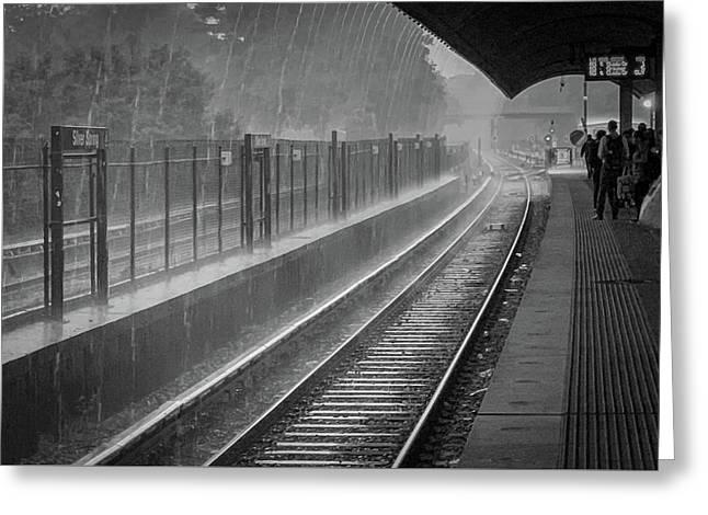 Rainy Days And Metro Greeting Card