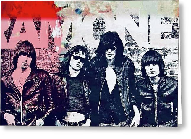 Ramones Greeting Card