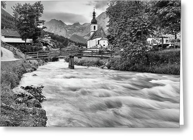 Ramsau, Bavaria Greeting Card