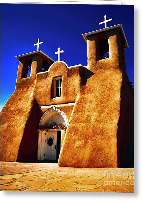 Ranchos Church  Xxxii Greeting Card