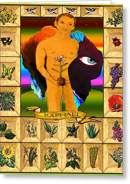 Raphael, The Archangel Greeting Card