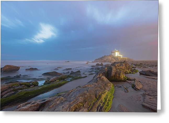Greeting Card featuring the photograph Ray Of Light by Bruno Rosa