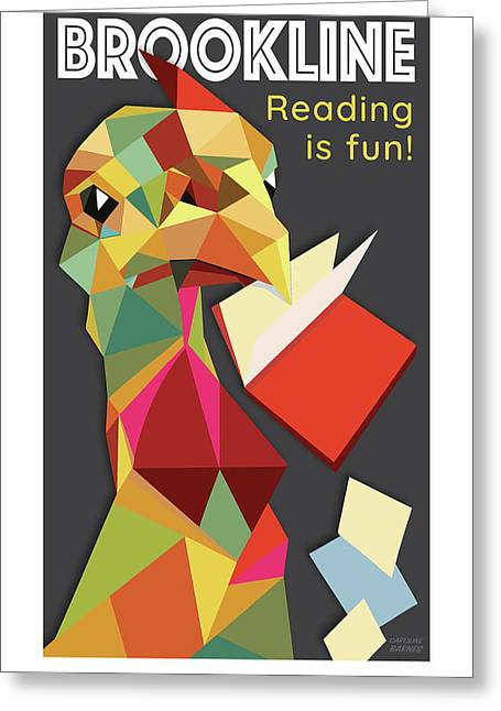Reading Is Fun Greeting Card