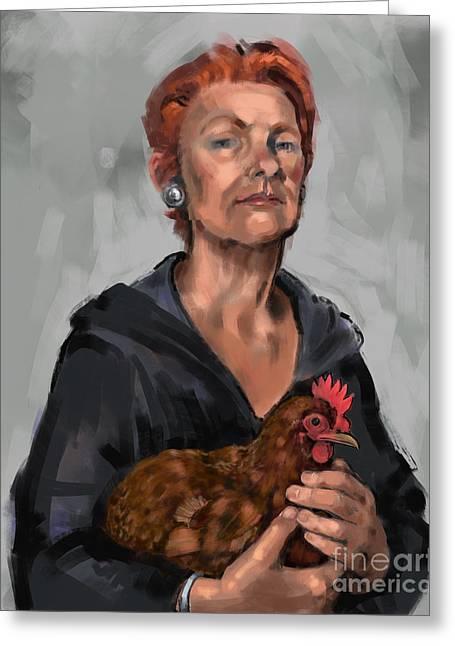 Redheads Greeting Card