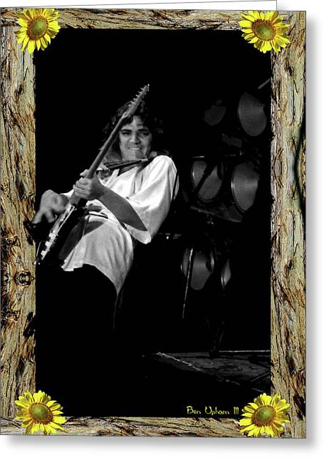 Greeting Card featuring the photograph Redwood Framed Tb #1 by Ben Upham