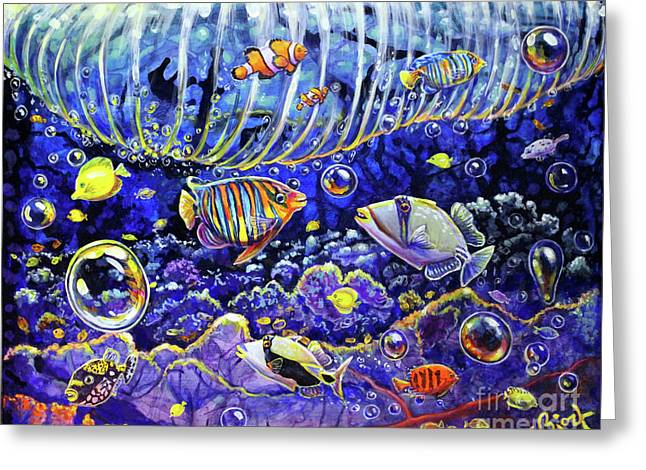 Reef Break Greeting Card