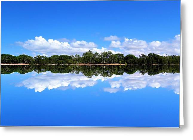 Reflective Lake Patricia Greeting Card