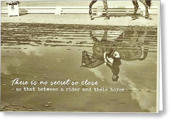 Relaxation Quote Greeting Card by JAMART Photography