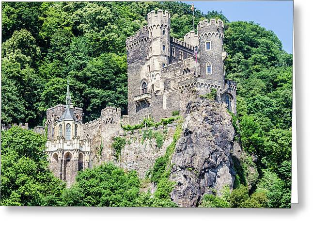 Rheinstein Castle Greeting Card
