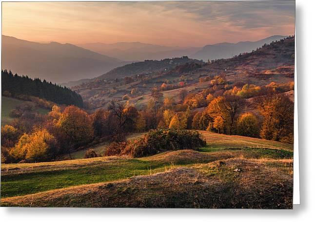 Rhodopean Landscape Greeting Card