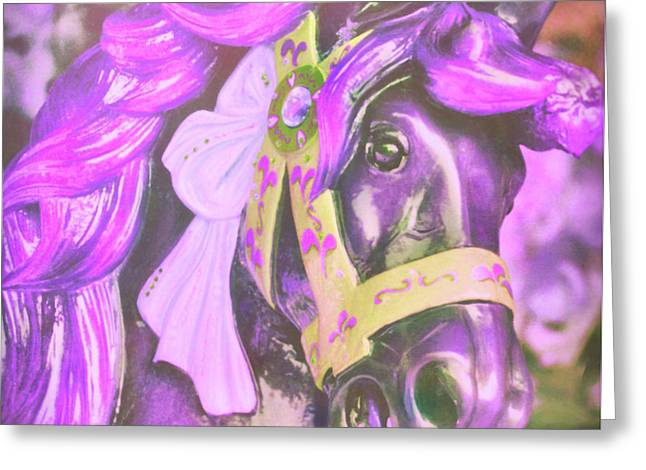 Greeting Card featuring the photograph Ride Of Old Purples by JAMART Photography