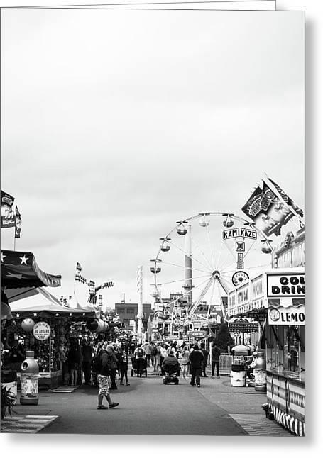 Greeting Card featuring the photograph Rides by Whitney Leigh Carlson