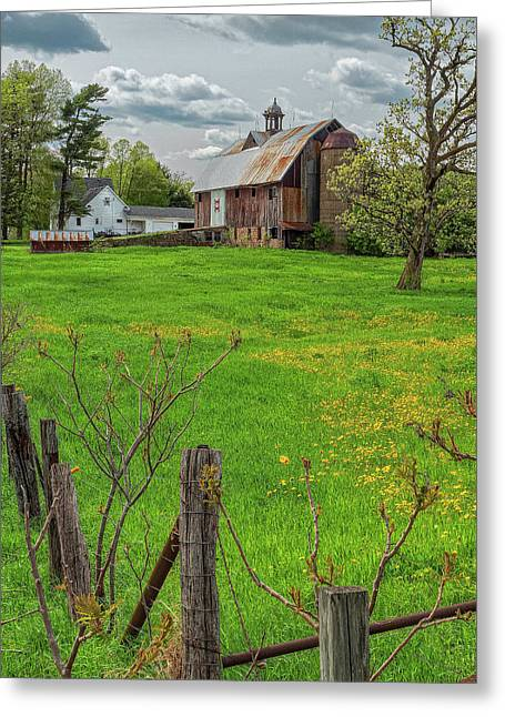 Ridgeway Barn Greeting Card