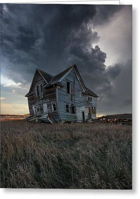 Greeting Card featuring the photograph Right Where It Belongs by Aaron J Groen