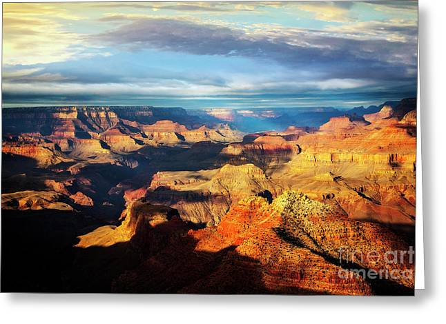 Greeting Card featuring the photograph Rim To Rim by Scott Kemper