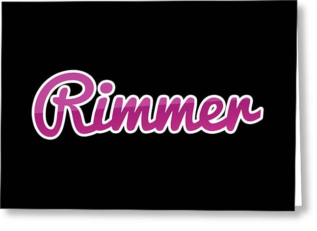 Rimmer #rimmer Greeting Card