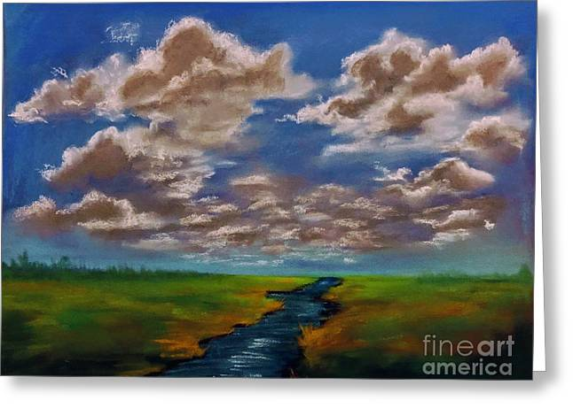 River To Nowhere Greeting Card