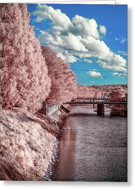 River Walk Greeting Card