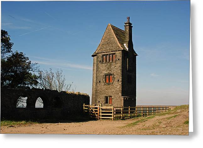 Rivington. The Pigeon Tower. Greeting Card