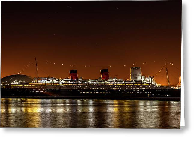 Rms Queen Mary Greeting Card