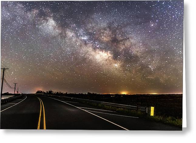 Road To Milky Way Greeting Card