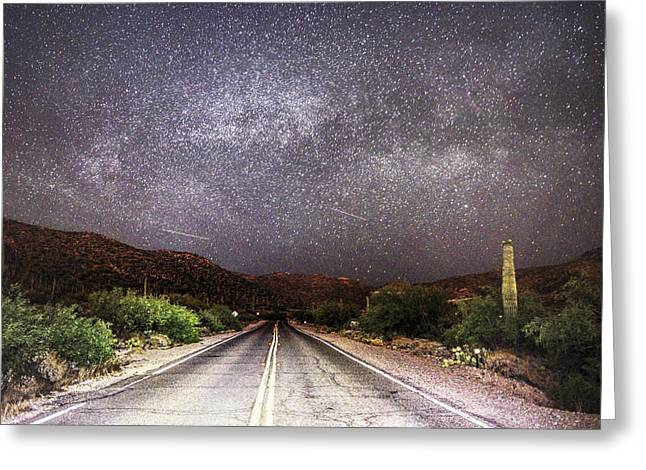 Road To The Stars Greeting Card