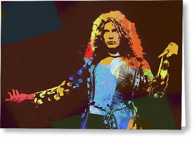 Robert Plant Tribute Greeting Card