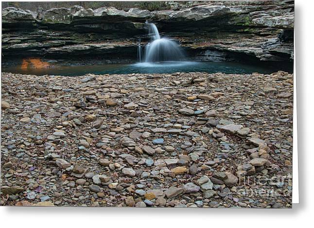 Greeting Card featuring the photograph Rock Circle by Joe Sparks