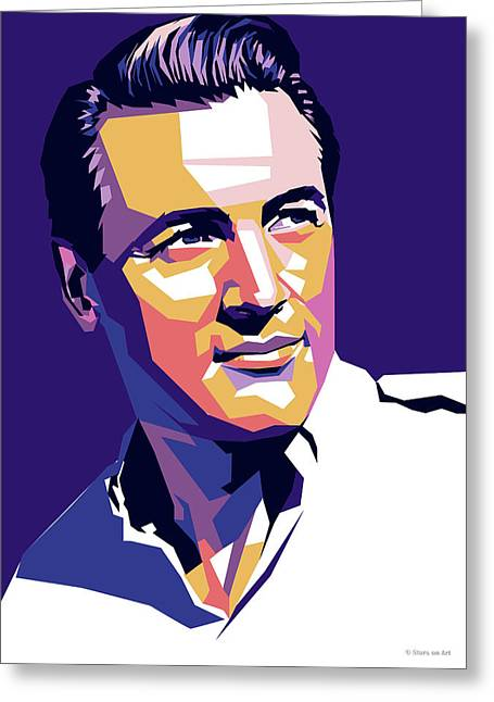 Rock Hudson Greeting Card