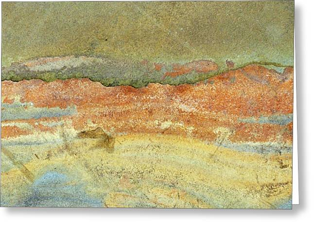 Rock Stain Abstract 2 Greeting Card