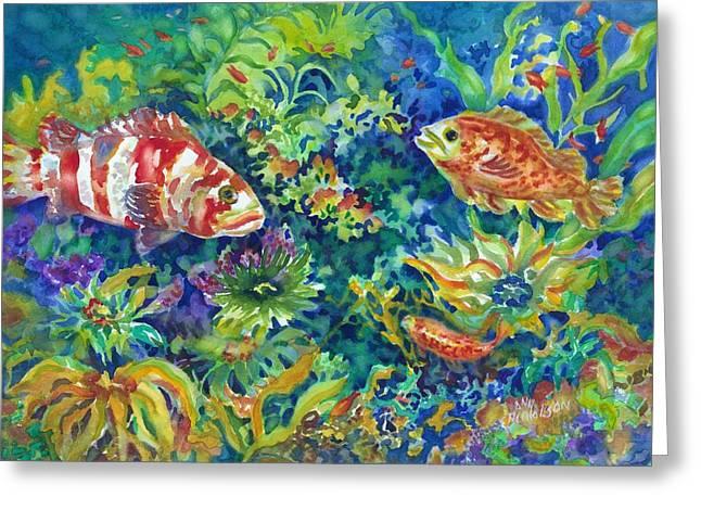 Rockfish Greeting Card