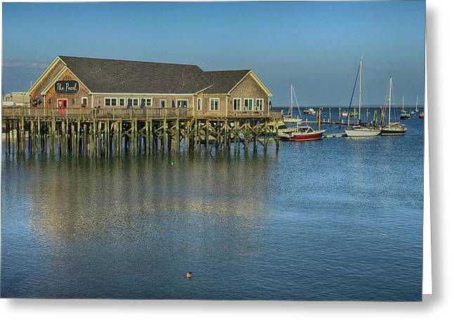 Rockland Harbor  Greeting Card