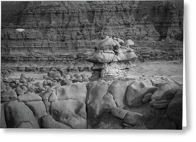 Rocky Desert Formation Greeting Card