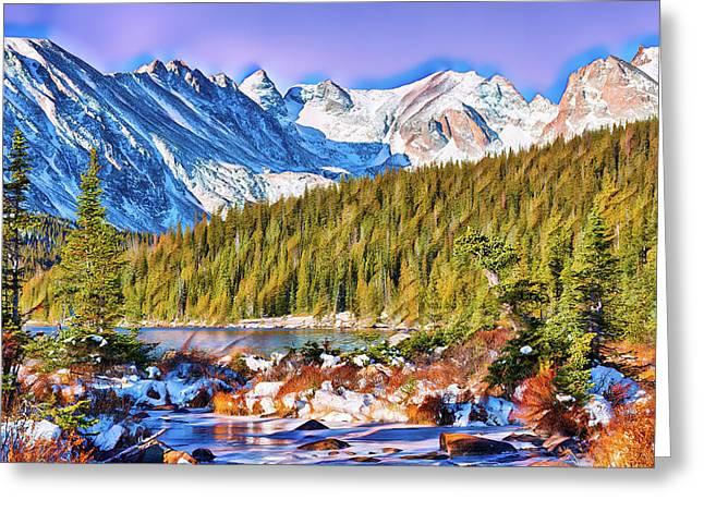 Rocky Mountain High Greeting Card