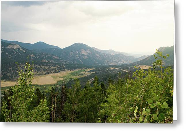 Rocky Mountain Overlook Greeting Card